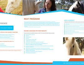 #15 para Brochure for Horse therapy company por sauravT