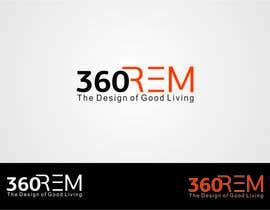 #905 for 360 REM Logo contest af bhavikbuddh
