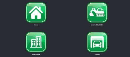 MFaizDesigner tarafından Design icons / pictograms (real estate) için no 16