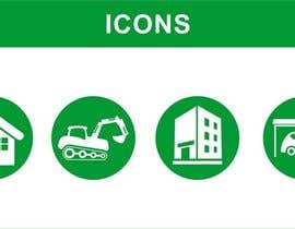 #27 cho Design icons / pictograms (real estate) bởi shaggyshiva
