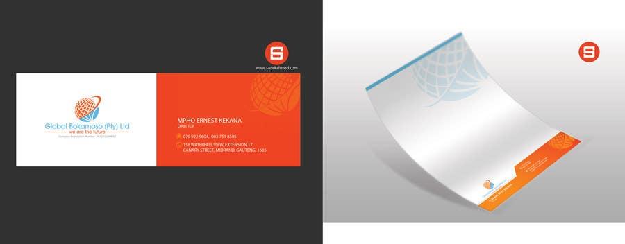 Kilpailutyö #37 kilpailussa Design a letterhead and business cards for a multi service company