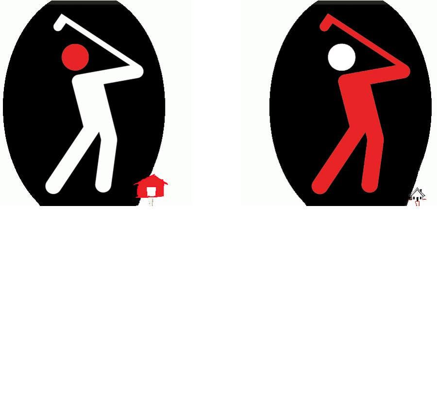 Bài tham dự cuộc thi #                                        4                                      cho                                         Design eines Logos for Golf Haus