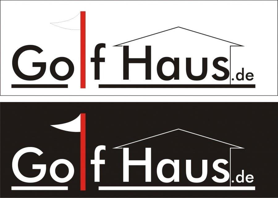 Bài tham dự cuộc thi #                                        6                                      cho                                         Design eines Logos for Golf Haus
