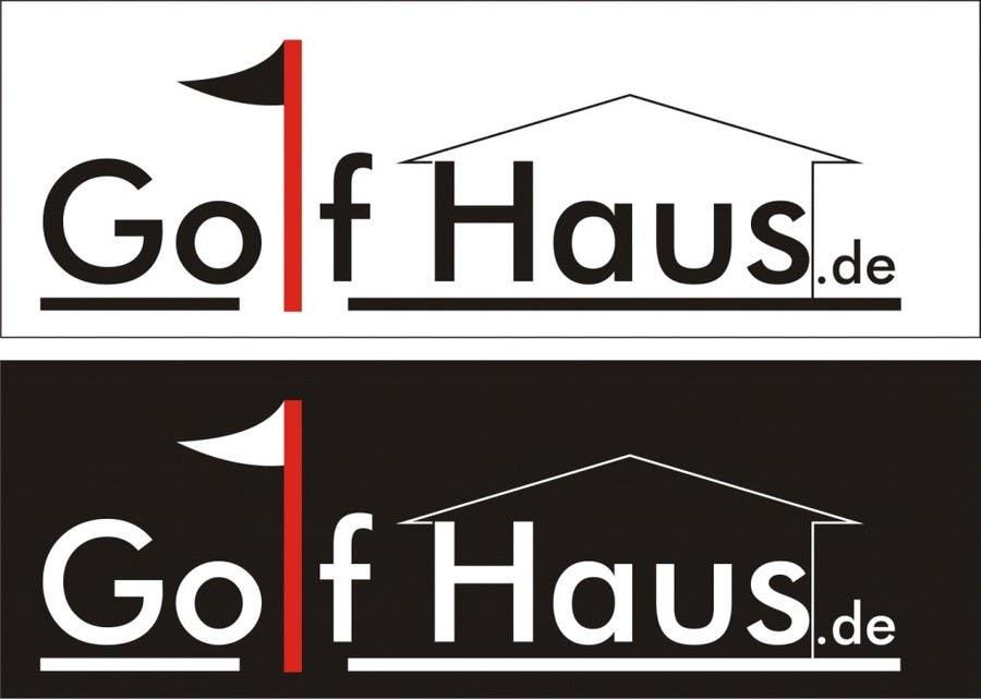 Bài tham dự cuộc thi #                                        7                                      cho                                         Design eines Logos for Golf Haus