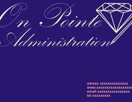 Nro 22 kilpailuun Design a Logo for On Pointe Administration käyttäjältä MarekLont