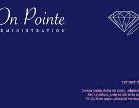 Nro 13 kilpailuun Design a Logo for On Pointe Administration käyttäjältä Megha03
