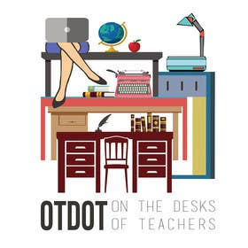#23 cho Design a Logo for On the Desks of Teachers (OTDOT) bởi dzezva