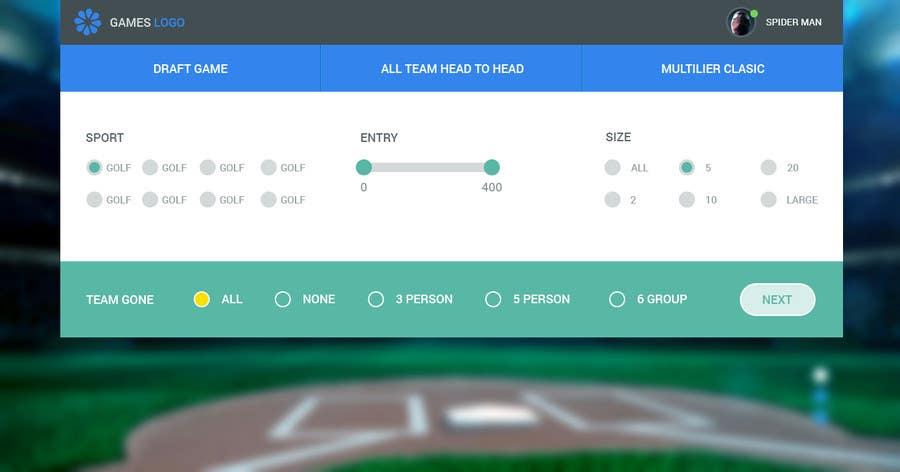 Penyertaan Peraduan #12 untuk Design a Website Mockup for  interface