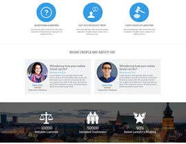 freeoutsourcer tarafından Design a webpage and logotype for Lawyers service için no 45
