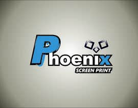 #10 for Design a Logo for Phoenix Screen Printing af ALEJVNDRO