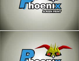 #22 for Design a Logo for Phoenix Screen Printing af ALEJVNDRO