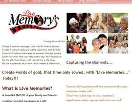 "infinityvash tarafından Design a Logo for my business called ""Live Memory's"" için no 52"