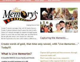 "infinityvash tarafından Design a Logo for my business called ""Live Memory's"" için no 55"