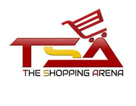 "#118 untuk Design a Logo for "" The Shopping Arena "" oleh hamzahafeez2000"