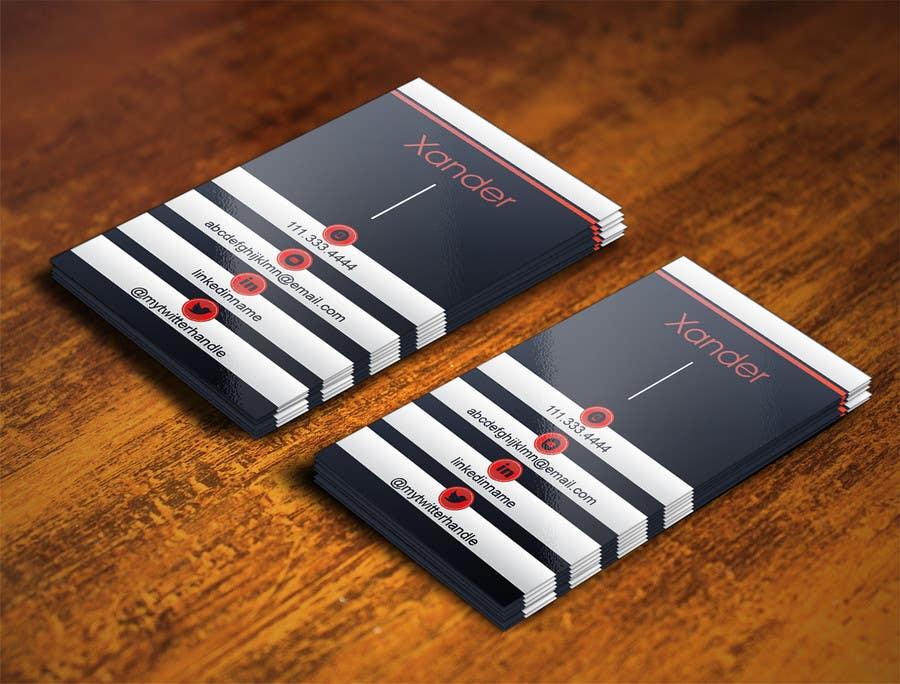 Bài tham dự cuộc thi #25 cho Business Card design for technology professional