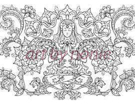#18 para Illustrate 5 Original Spiritual Images (Line Illustration in Mendhi or Persian Vector Style or Similar) por nonie26