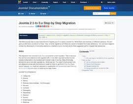 Decomex tarafından Upgrade an existing joomla website için no 10