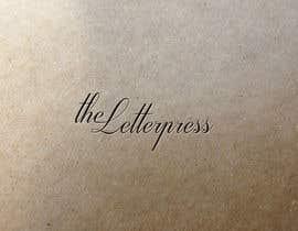 Nro 32 kilpailuun The Letterpress käyttäjältä julianbp
