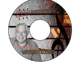 #8 untuk CD Label Design for Musician oleh QuickPhoto