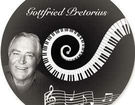 #25 untuk CD Label Design for Musician oleh ibrahimrantissi