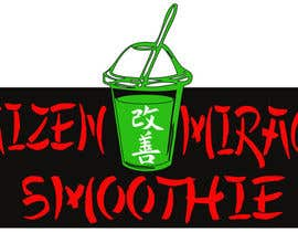 #12 para Design a Logo for Kaizen Miracle Smoothie por kaashif8