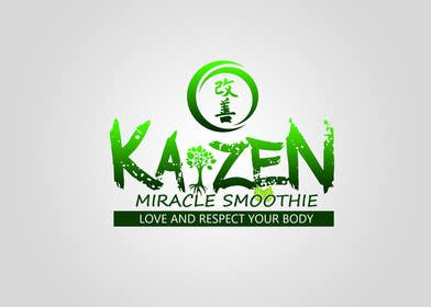 #2 cho Design a Logo for Kaizen Miracle Smoothie bởi kukubeso