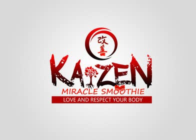 #3 cho Design a Logo for Kaizen Miracle Smoothie bởi kukubeso