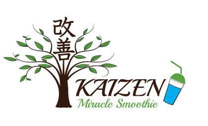 #4 for Design a Logo for Kaizen Miracle Smoothie af mogado