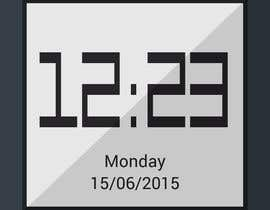 #14 for Design clock interfaces for windows desktop based clock af SatansRealCat