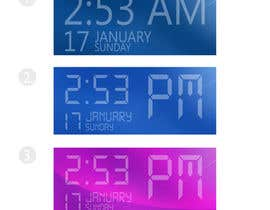 #23 for Design clock interfaces for windows desktop based clock af ignaczildiko
