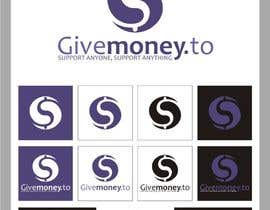 #319 para Design a Logo for Givemoney.to por indraDhe