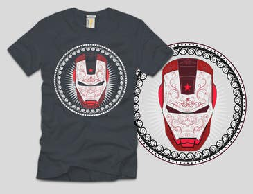 #13 for Design an ironman t shirt (helmet) af ezaz09