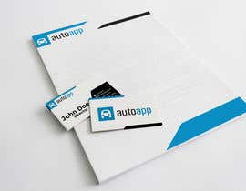 #122 untuk Develop a Corporate Identity for autoapp.do oleh reyki