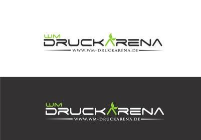 #8 untuk Design eines Logos für die wm druckarena GmbH oleh sayuheque