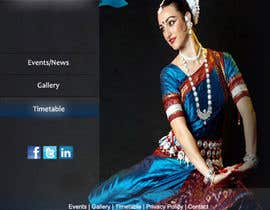 #5 untuk Build a Website for Indian Classical Dance School oleh tanvibathe