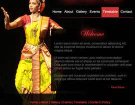 #12 untuk Build a Website for Indian Classical Dance School oleh tanvibathe