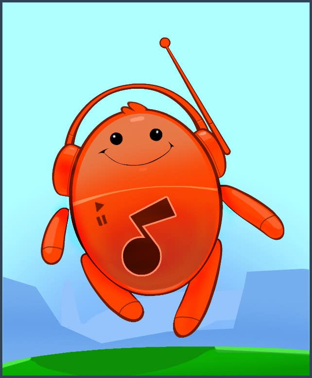 Конкурсная заявка №118 для Mascot for new cool social music app.
