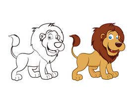 #32 untuk Illustrate Cartoon Lion for New Company oleh vicos0207