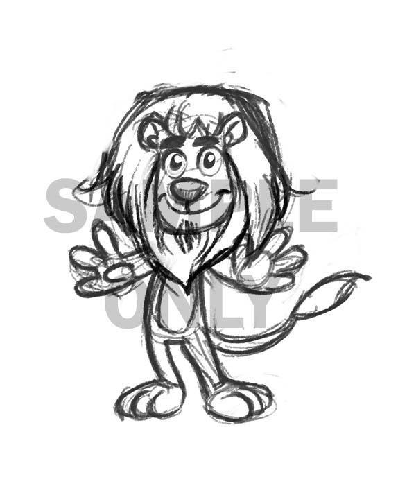 Bài tham dự cuộc thi #31 cho Illustrate Cartoon Lion for New Company