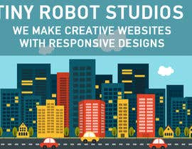 #6 untuk Design a Website Mockup for The TINY BOT STUDIOS oleh aryamaity