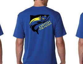 #39 untuk Design a cool fishing shirt for my company Catch the Fever oleh tengkushahril