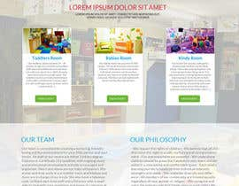 #8 for Design a Website Mockup for A Child Care Centre af aryamaity