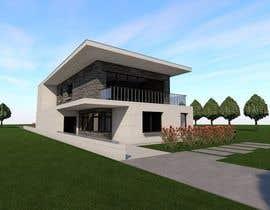 #7 untuk Modern House Facade oleh maro1978