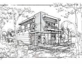 #13 for Modern House Facade af Ericchuah0404