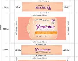 Nro 7 kilpailuun Create Print and Packaging Designs for Feminine (vaginal) freshness wipes käyttäjältä graphidesginer