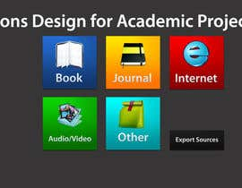 #26 untuk Icons Design for Academic Project oleh fidakhattak