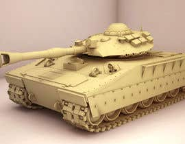 #2 untuk Do some 3D Modelling for futuristic combat tank oleh rahulsagardesign