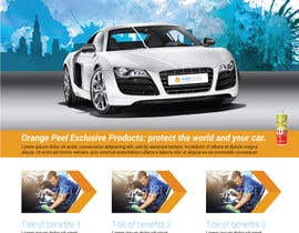 Nro 6 kilpailuun Design a Brochure for a local car wash / car detailing center käyttäjältä brunoesp