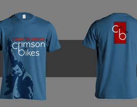 #6 para Design a T-Shirt for CrimsonBikes por emerludwin