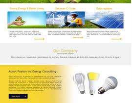 #15 untuk Create a Wordpress Template for Poyton Inc Energy Consulting oleh SHRIHITECH